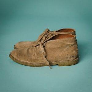 Lucky Brand Size 9 Tan Suede Chukka Boots